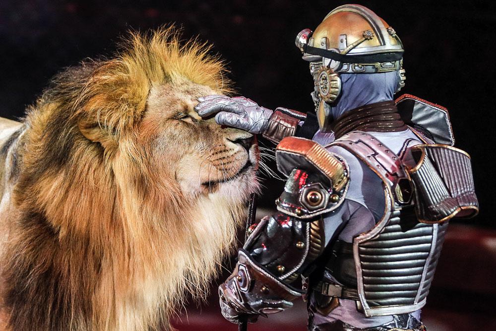 Es el mayor circo de Europa y acaba de cumplir 45 años.