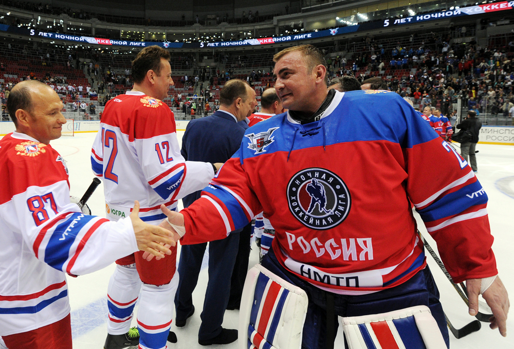 The Night Hockey League. Source: Tass