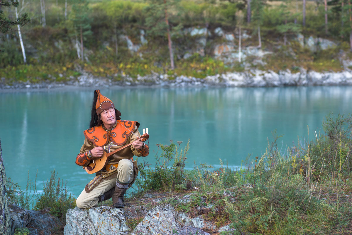 Altai, as one of the few places in the world in which a unique type of oral folklore endures, is a place of storytelling.