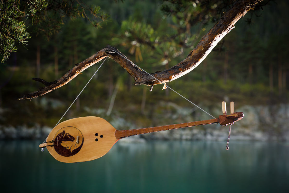 In the Altai there is a legend. If a storyteller carves out a musical instrument from lightning-struck cedar, then it will have a soul of its own. However, to find such a tree in the thick taiga forest, one needs to have a special relationship with the spirits.