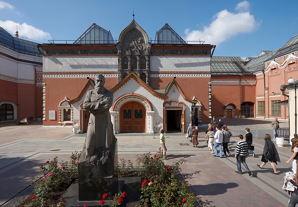 The State Tretyakov Gallery is the foremost depository of Russian fine art in the world.