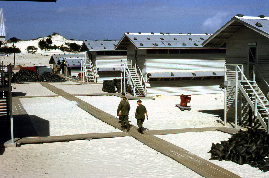 Vietnam's Cam Ranh Bay military base, when it was administered by the U.S. in 1968.