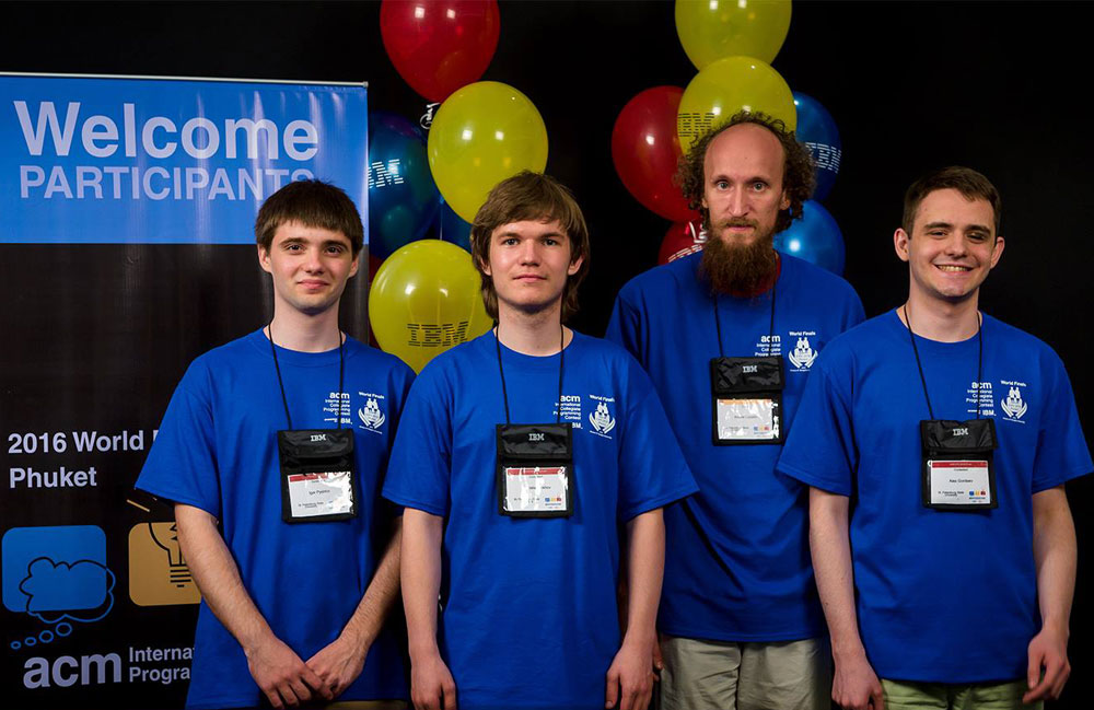 St. Petersburg University students win international programming contest.