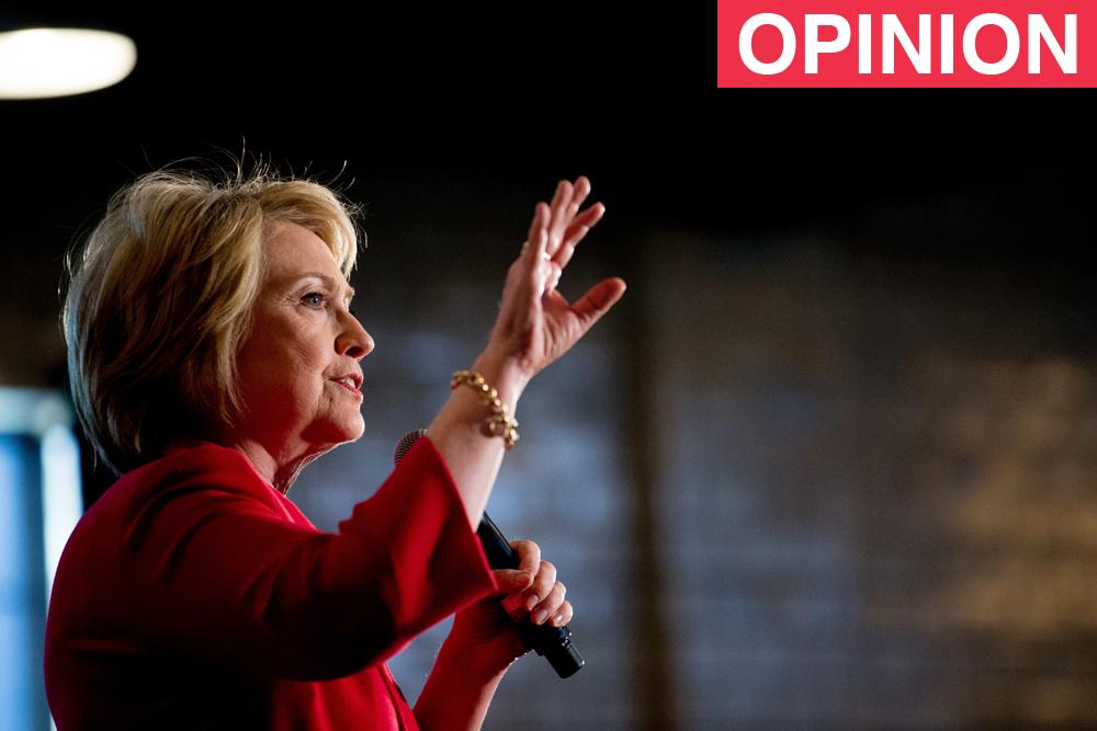 La candidata demócrata Hillary Clinton en Kentucky durante un acto de la primarias.
