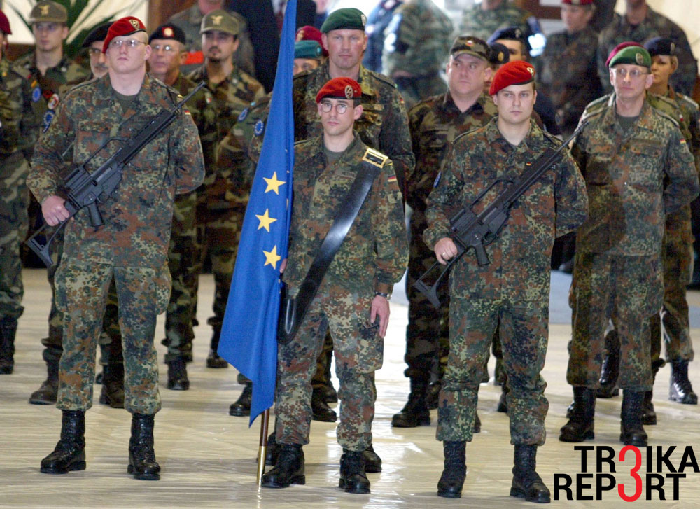 """The aim of a European army is not to make the EU wholly independent of NATO. Instead, European efforts should contribute to more ambitious burden sharing between NATO and the EU."""