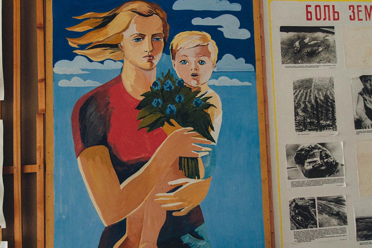 Spitzberg ne compte qu'un village russe actif, Barentsburg.