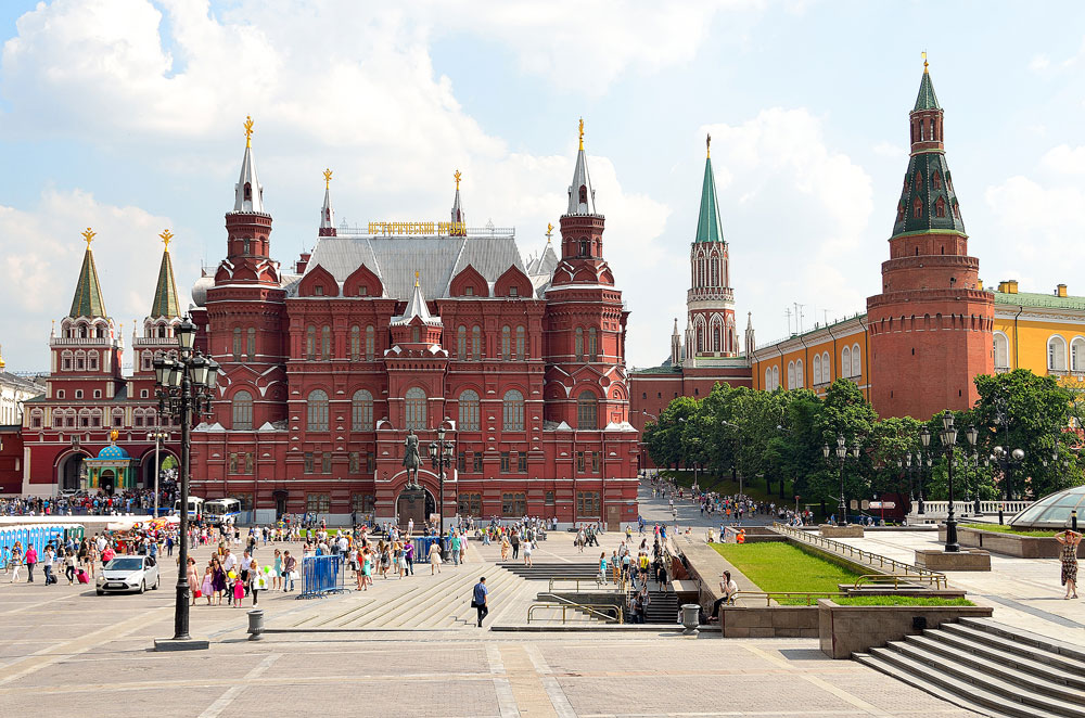 visited museums in Moscow and Spb