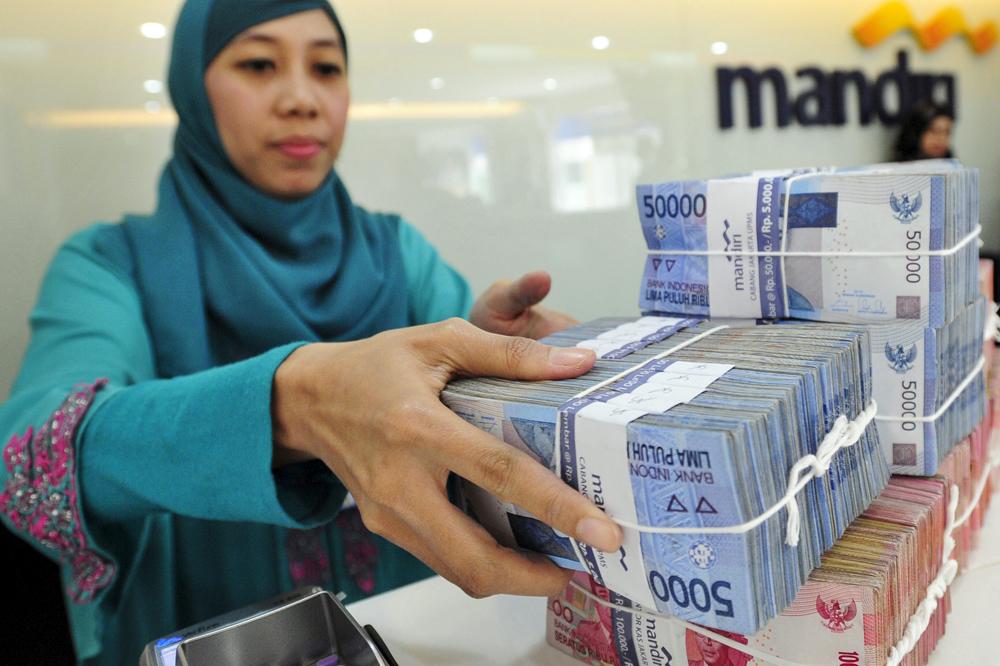 Jakarta, 20 juillet 2015. Des roupies indonésiennes.
