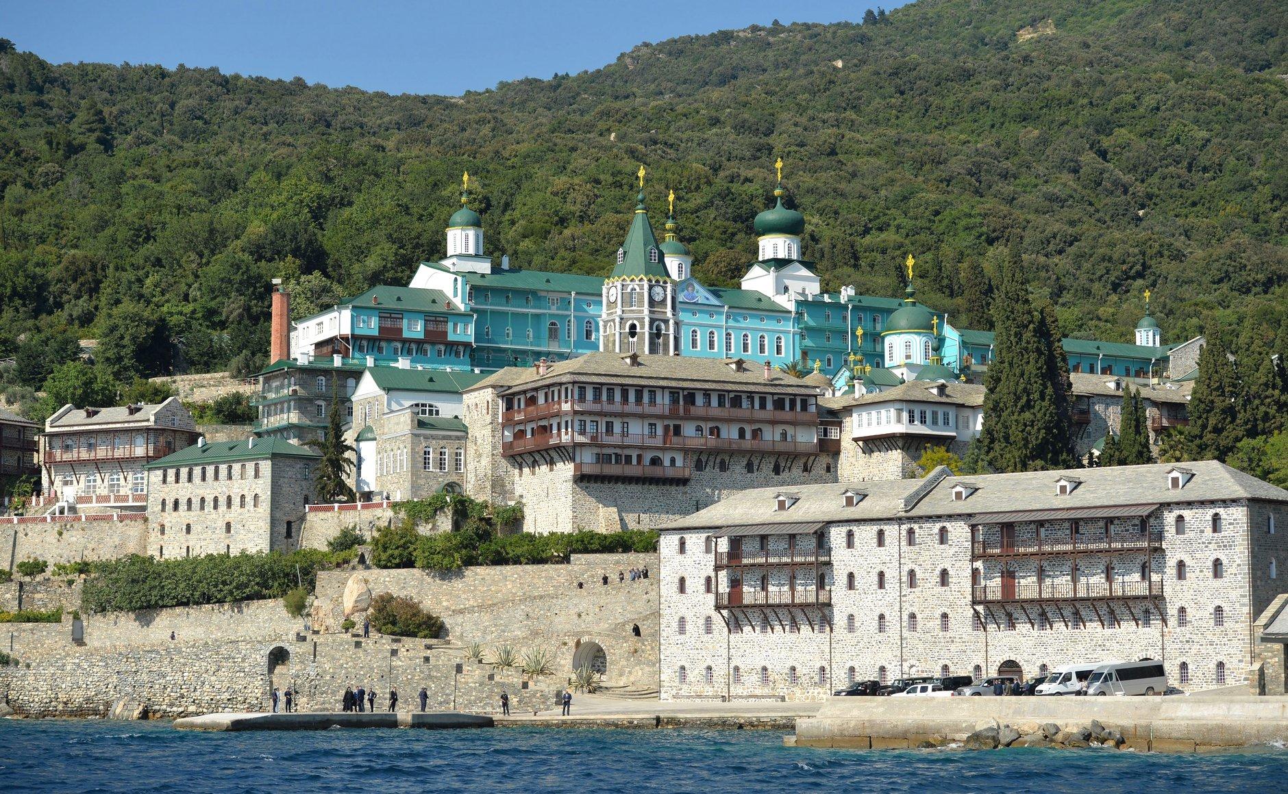 Mosteiro russo de São Panteleimon, no Monte Athos