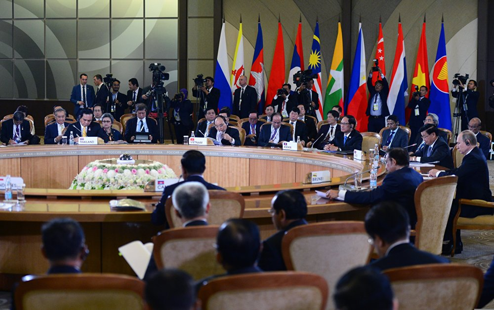 Sochi hosted the Russia-ASEAN summit on May 19-20.