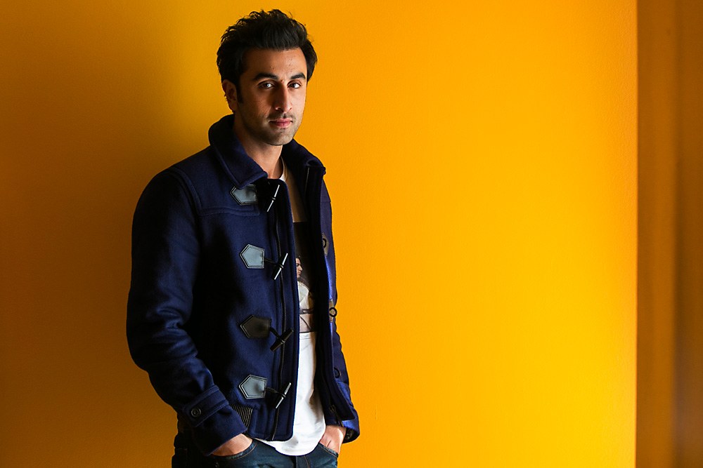 Bollywood actor Ranbir Kapoor.