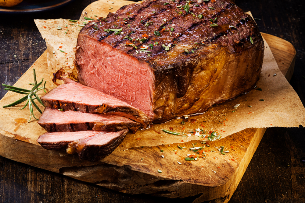 In St. Petersburg you can now choose your meat, watch it prepared and get it delivered without leaving your home!