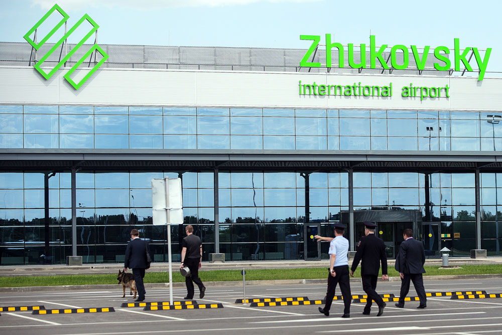 Zhukovsky International Airport was opened in the spring of 2016.