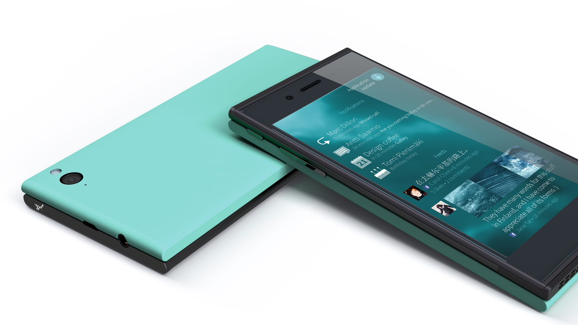 The Jolla Sailfish OS. Source: Press photo