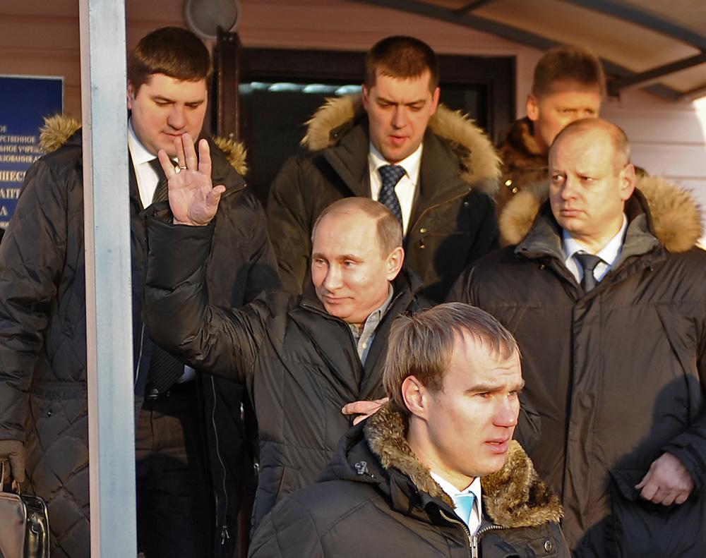 Vladimir Putin in the city of Tambov, 2012. Source: Alexandra Mudrats/TASS