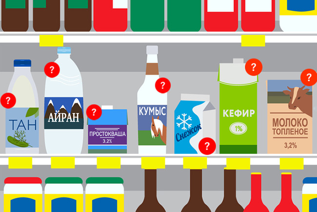 Kefir or smetana: Your guide to the Russian dairy section