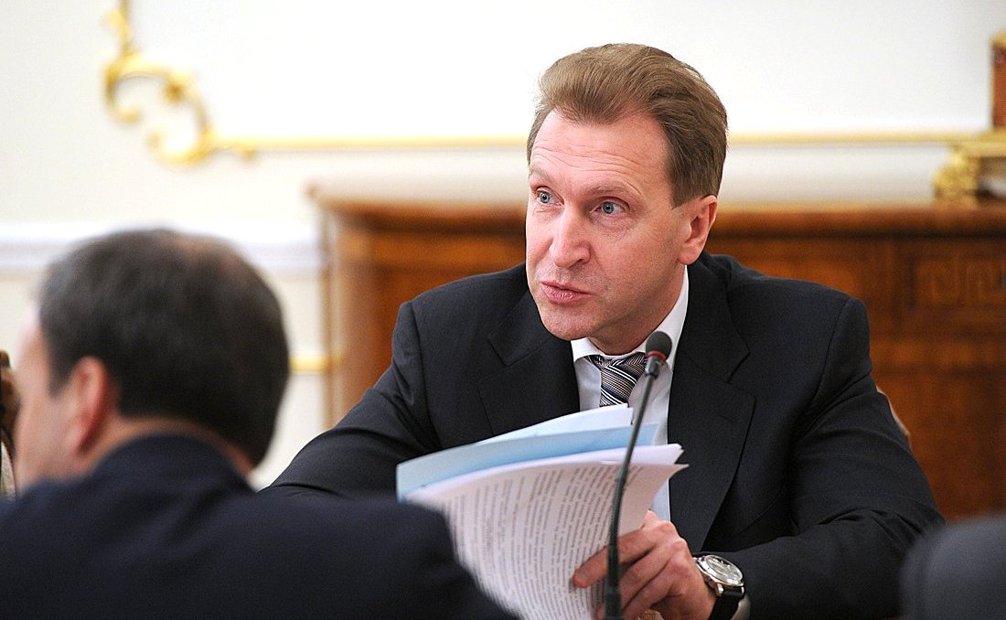First Deputy Russian Prime Minister Igor Shuvalov.