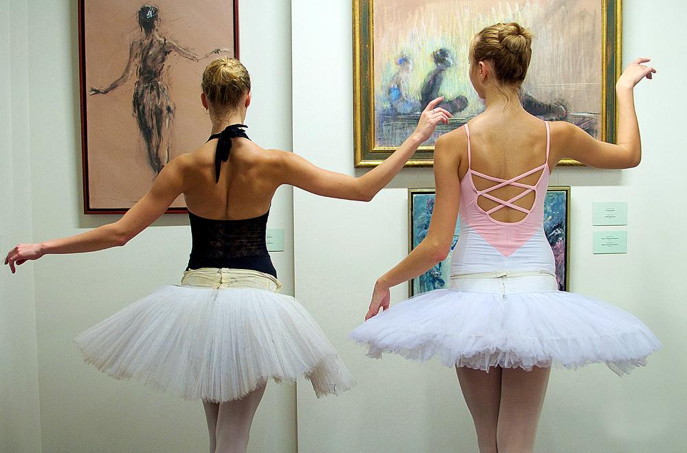 """Ogni giovedì dalle 8 alle 10 del mattino nella Galleria Tretyakov i visitatori potranno partecipare al progetto """"Balli al museo""""."""