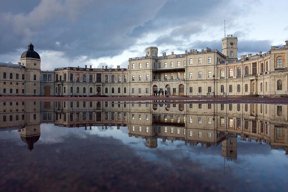 Le Grand palais de Gatchina.