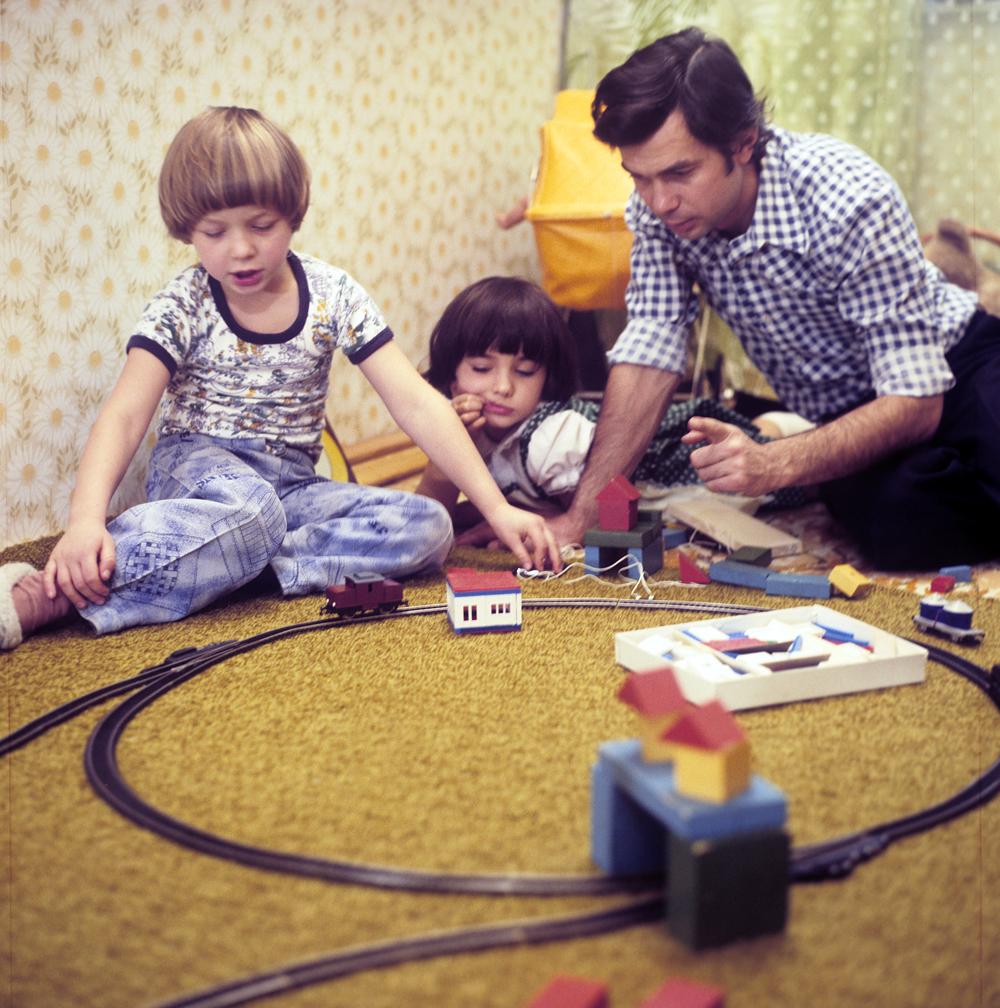Für viele Familien in Russland stehen die Kinder im Mittelpunkt.