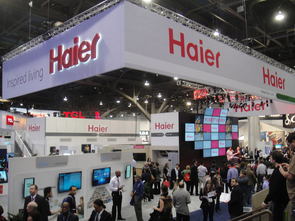 Haier will invest $55 million in Tatarstan.