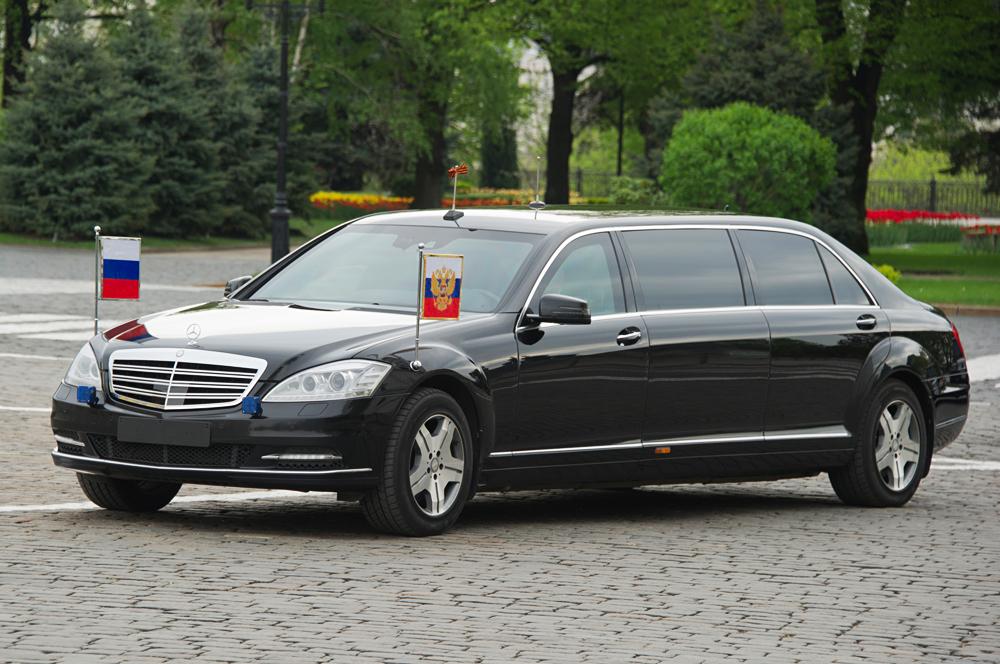 Automobil Ruskog predsjednika Vladimira Putina, Mercedes-Benz S600 Pullman