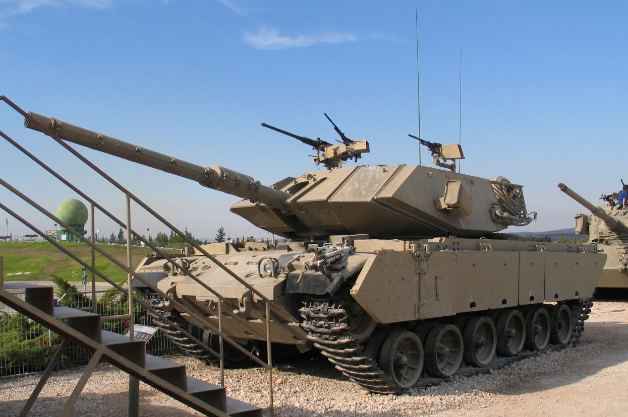 The Israeli side presented the similar tank model for the museum exposition.