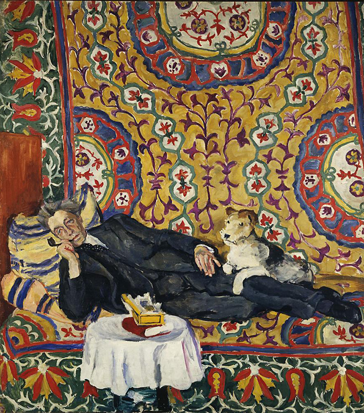 Portrait of Vsevolod Meyerhold, 1938. One of the artist's recognized masterpieces – Portrait of Vsevolod Meyerhold, Russian and Soviet theatre director, actor and theatrical producer, a pictorial homage to Matisse, is a symbol of aestheticism and human solitude. It was painted in 1938 in the house of the renowned and already disgraced stage director, one of whose plays had found disfavor with Stalin. A short time after the creation of the portrait, Meyerhold was arrested and shot.