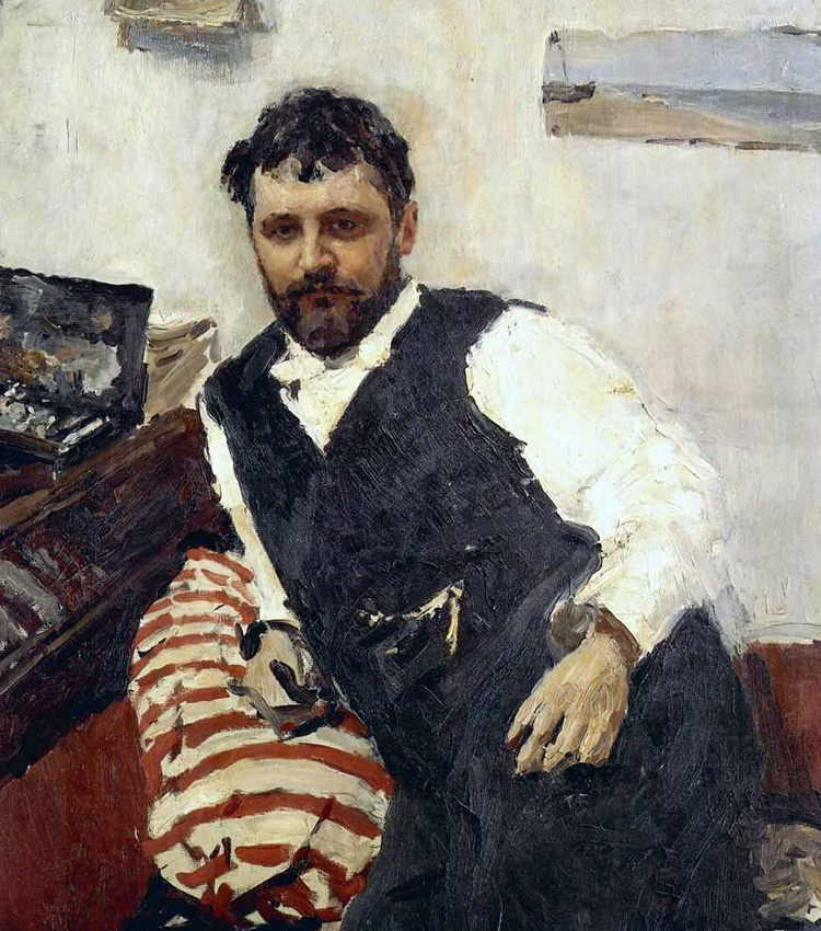 Portrait of Konstantin Korovin, 1891. The name Korovin is associated with Russian impressionism – an art trend that was born in France and spread widely in European art in the last quarter of the 19th century.