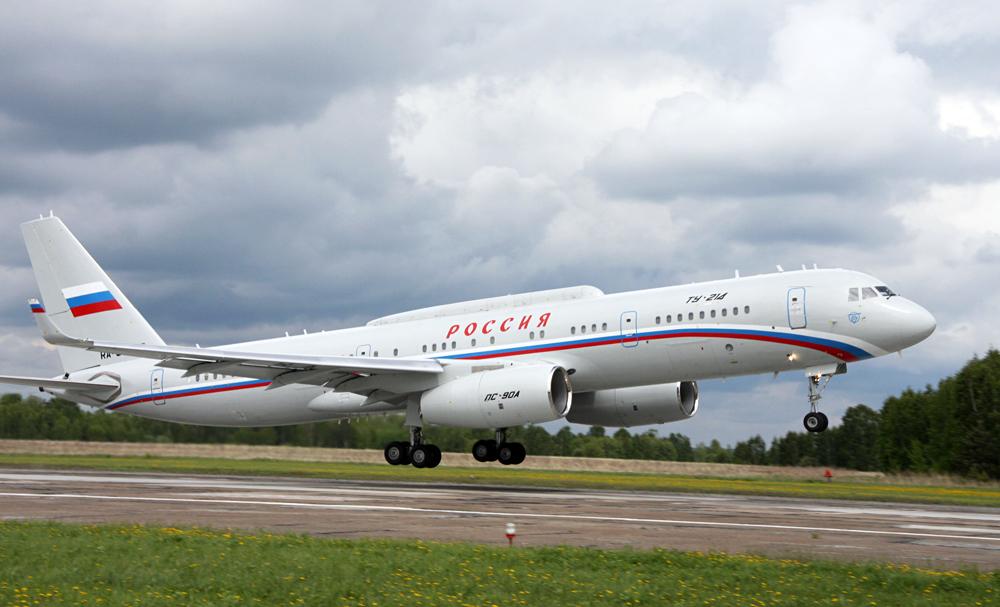 Tu-214 special purpose aircraft. / Source: RIA Novosti