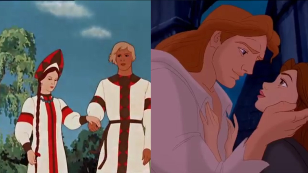 'The Scarlet Flower' and 'Beauty and the Beast'