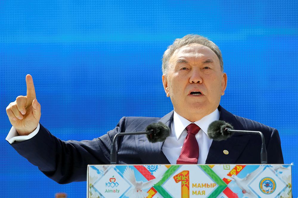 Presiden Kazakhstan Nursultan Nazarbayev