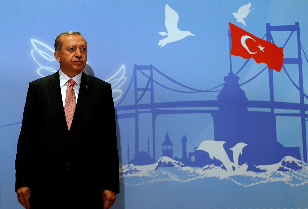 "Turkish president expressed his desire that relations between Moscow and Ankara would reach a ""distinguished level."""