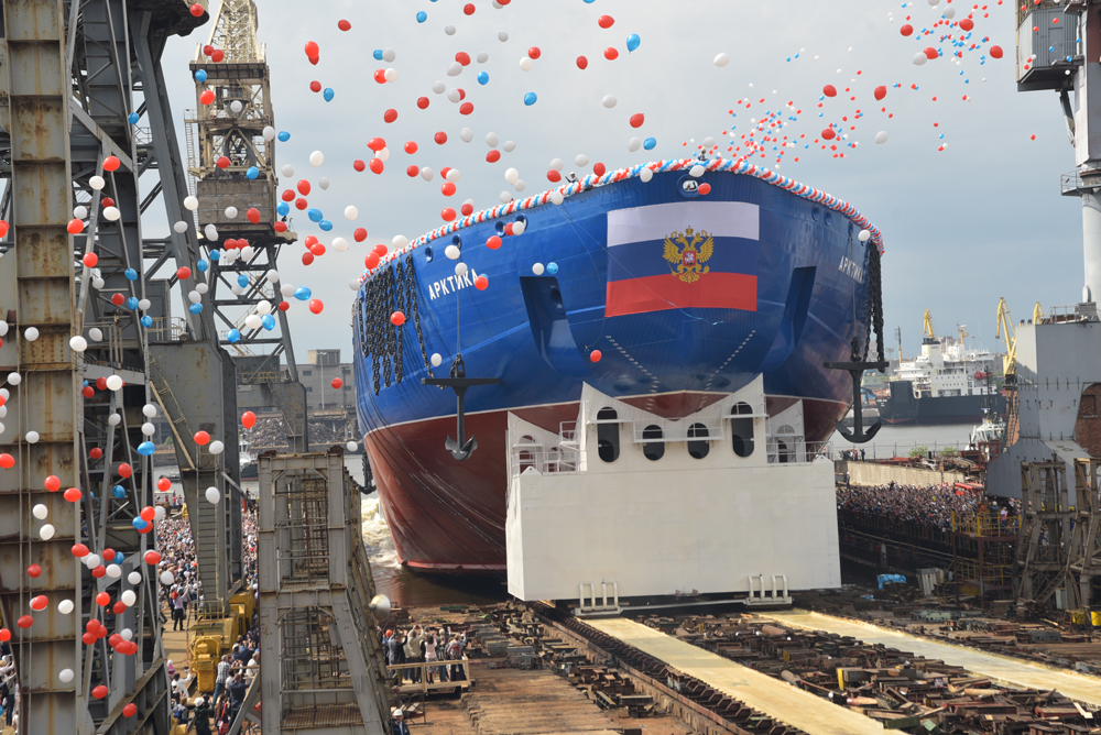 "The Arktika vessel is unique in the world, ""it opens up brand new opportunities for the country's defense capacities and Arctic development projects,"" the Rosatom director said."
