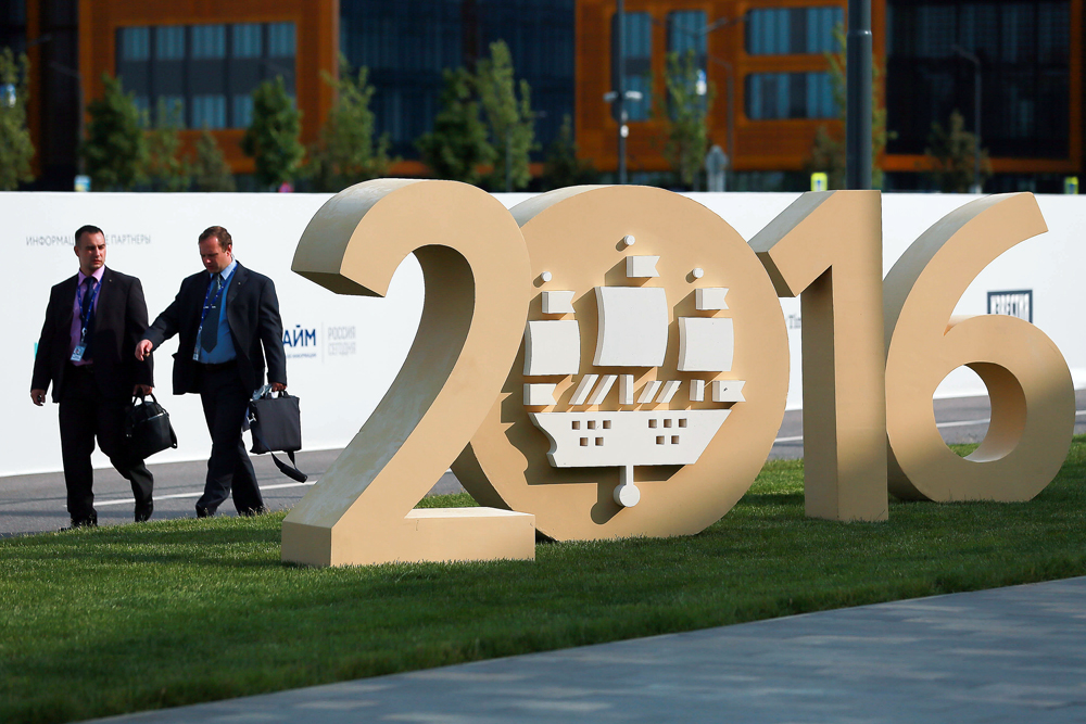 International Economic Forum Is Open In Saint-Petersburg.