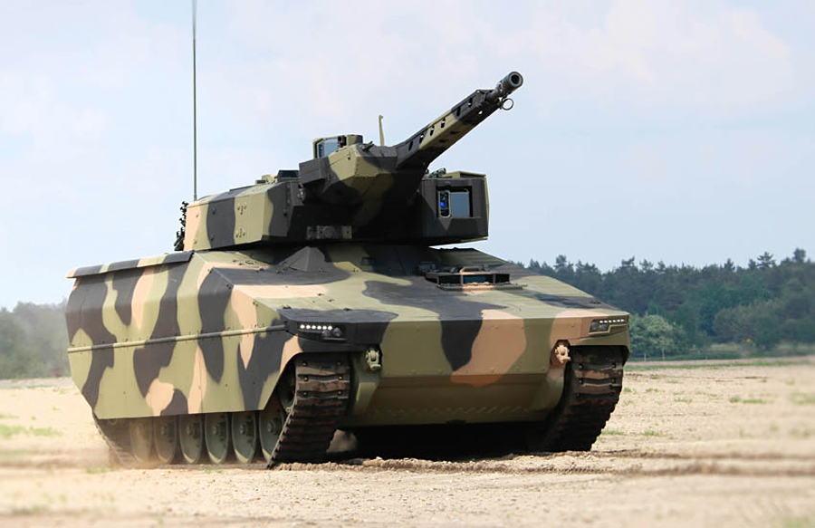 Rheinmetall's new IFV, the Lynx