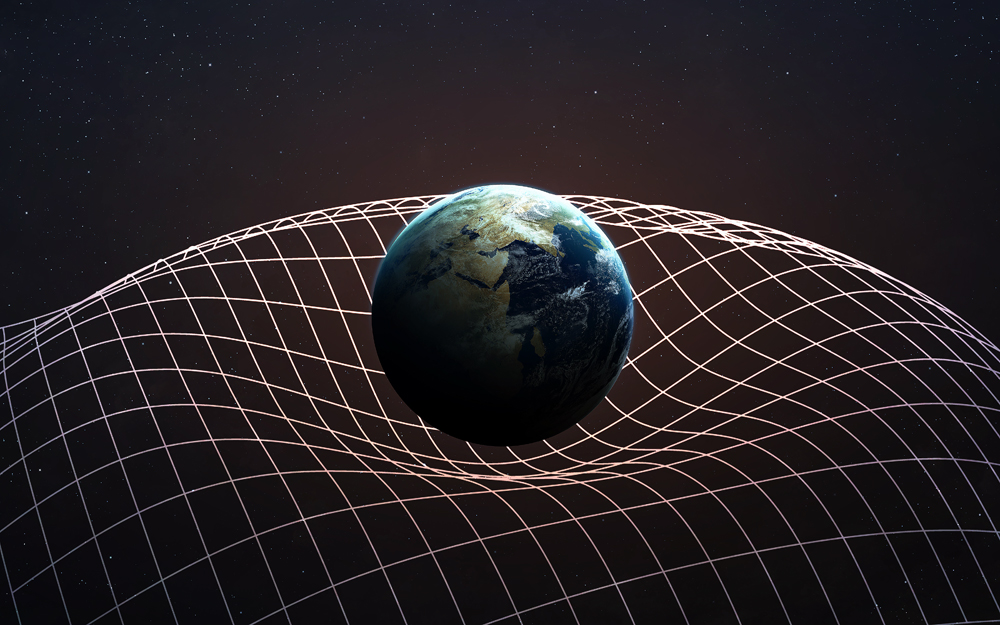 The detected gravitational waves were generated by two black holes.