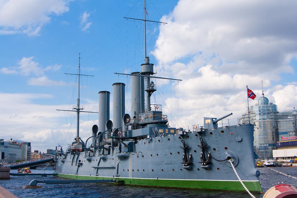 Kapal Jelajah Aurora adalah kapal bersejarah nan unik milik Rusia.