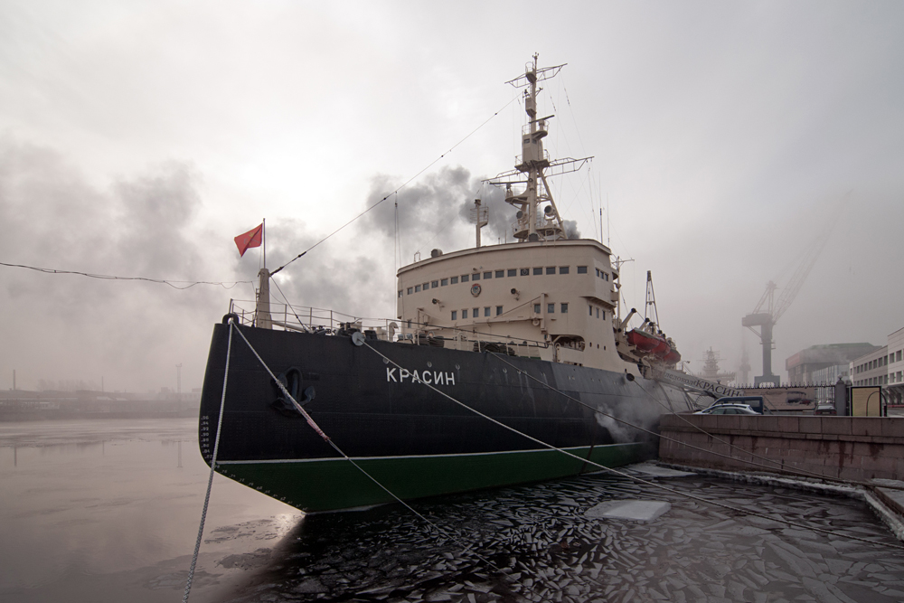 The Krasin icebreaker