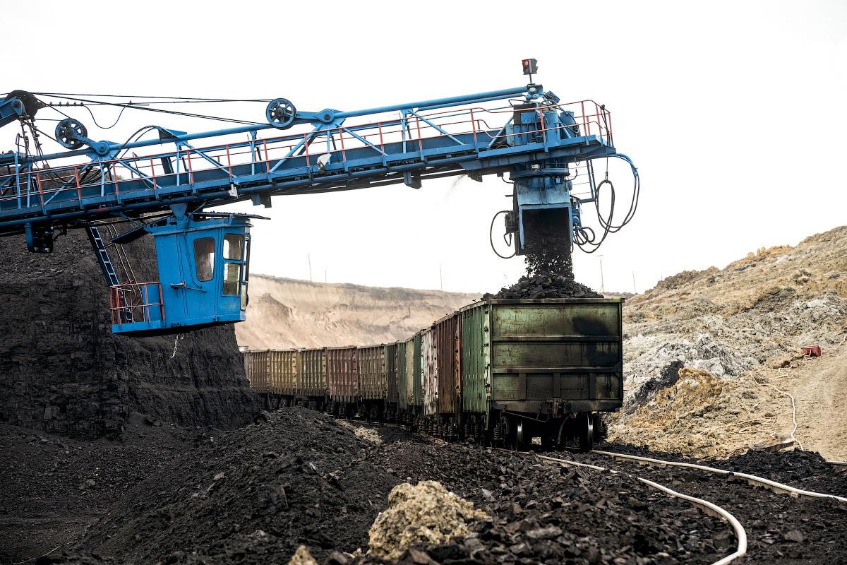 Le miniere vicino a Krasnoyarsk hanno iniziato a spuntare, una dopo l'altra, durante il periodo di industrializzazione dell'epoca di Stalin