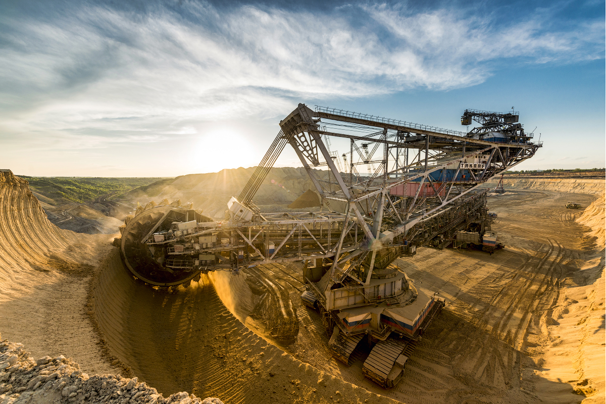 L'extraction du charbon est relativement difficile à la mine Nazarovski. Les filons se trouvent à 70 mètres de profondeur.