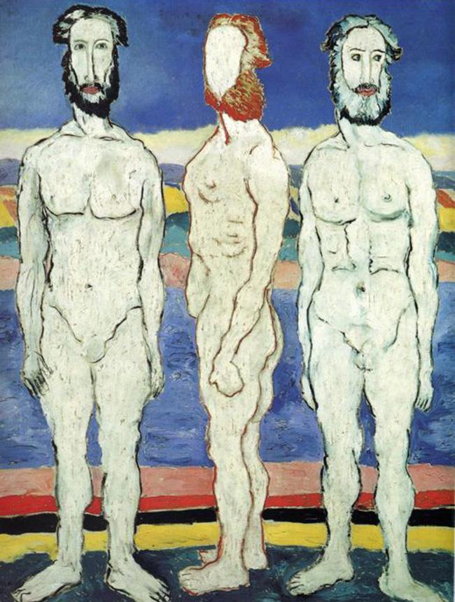Kazemir Malevich, Bagnanti, 1932Continuo a leggere:Il cinema messo a nudo