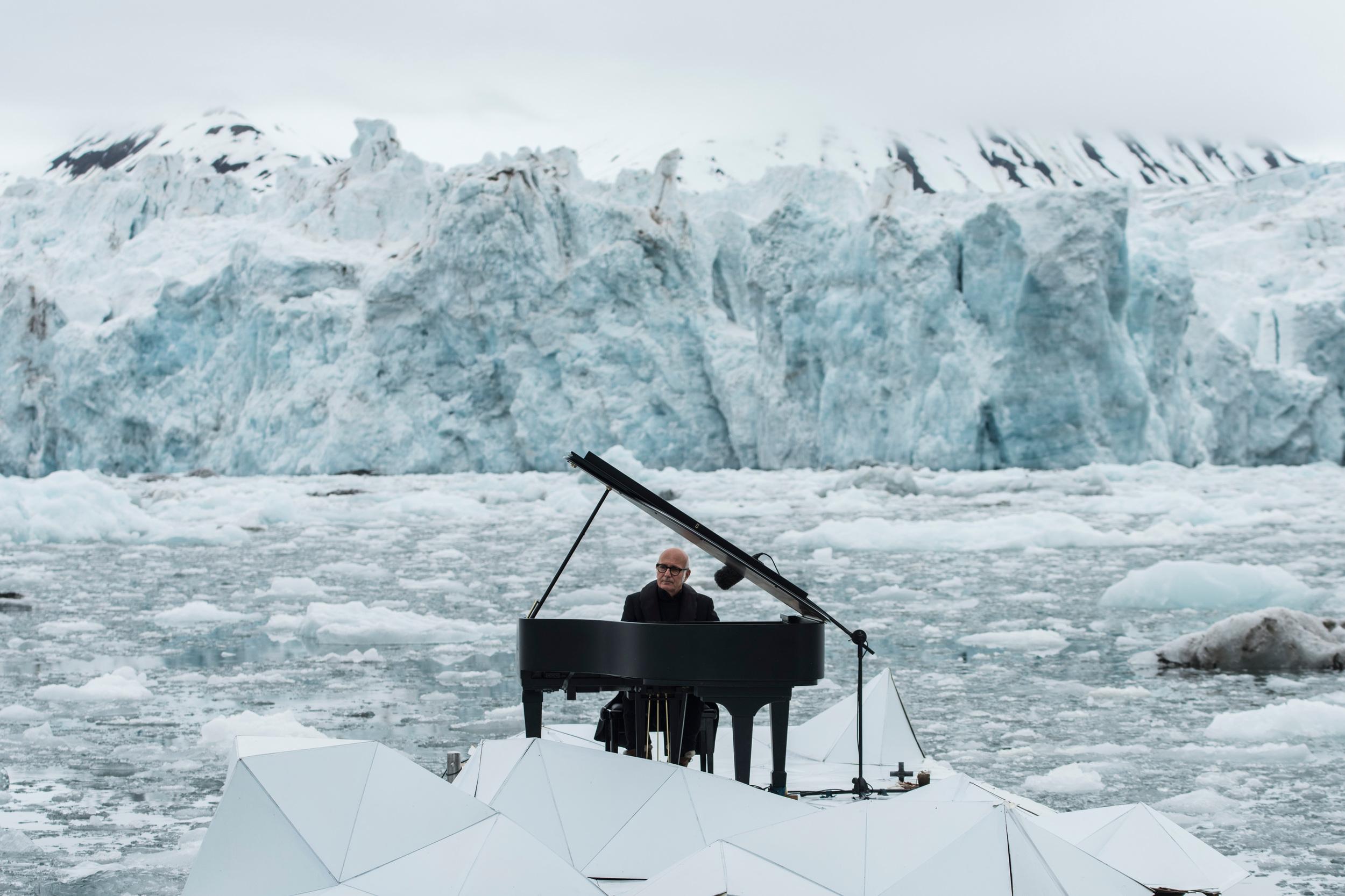 La musica di Einaudi a difesa dellu2019Artico