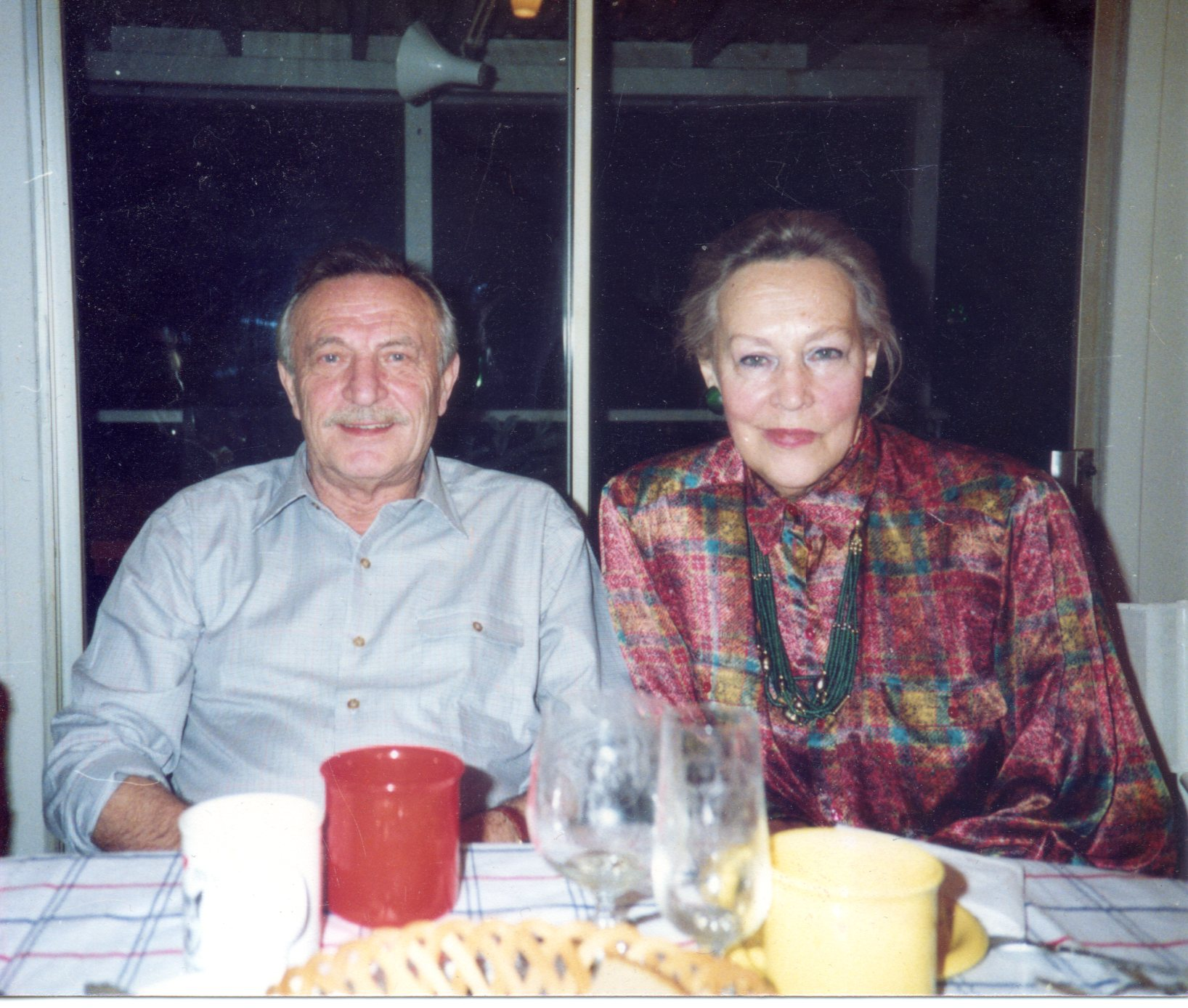 Mikhail and Tamara in New York. Source: Personal archive