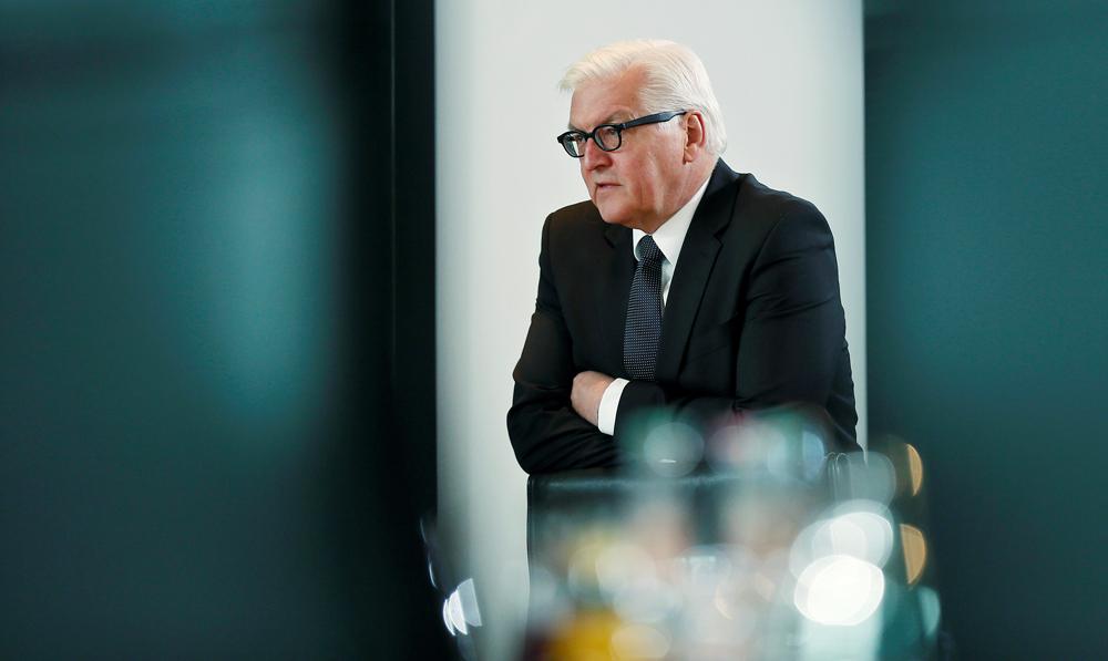 Der deutsche Außenminister Frank-Walter Steinmeier.