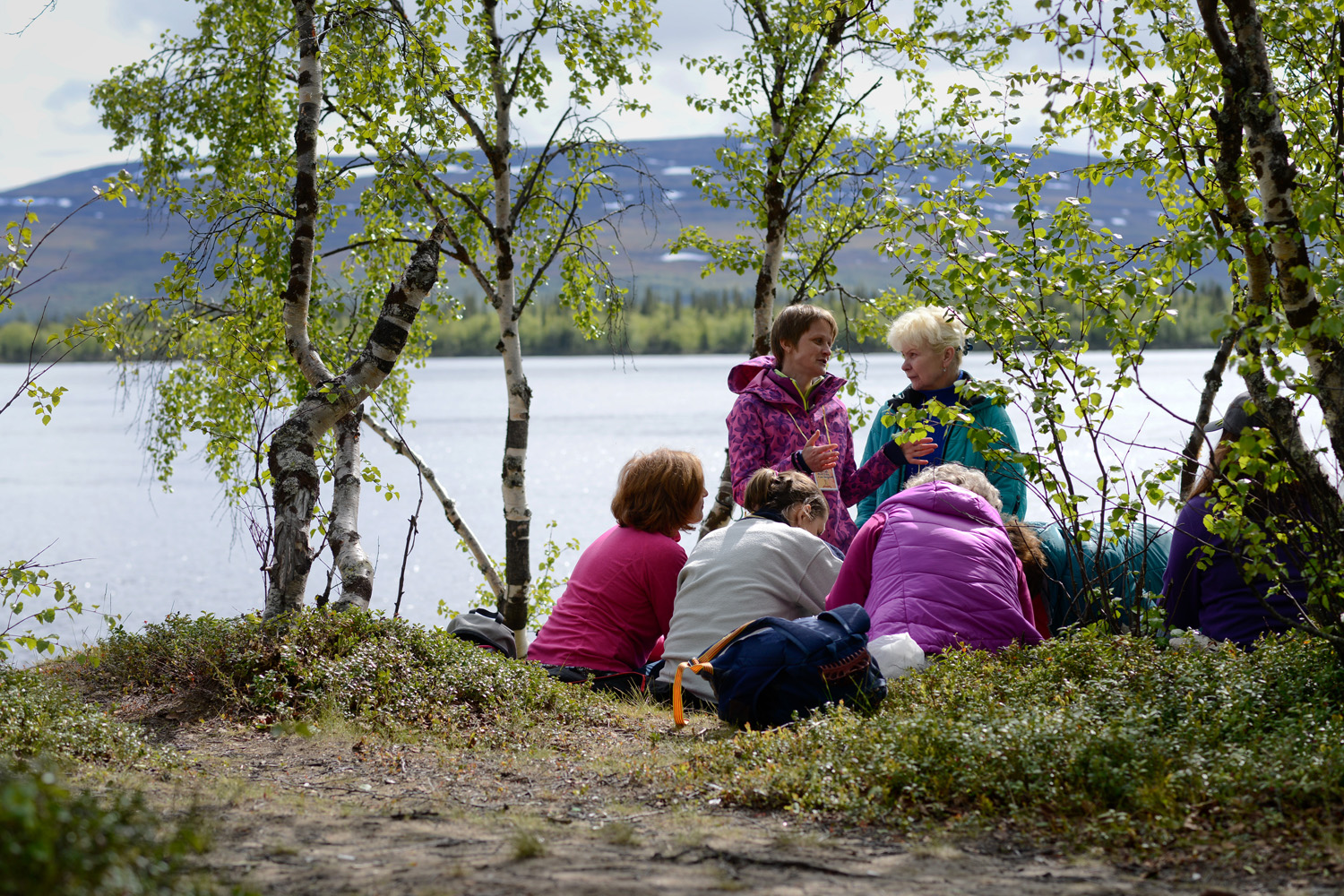 In mid-June in the village of Lovozero in the Murmansk Region, right in the heart of Saami culture, a picturesque lakeside location hosts an event of traditional Saami games.