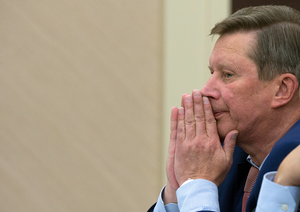 Former Chief of Staff of the Presidential Executive Office Sergei Ivanov
