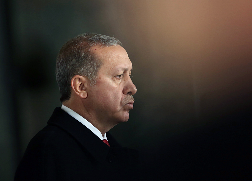 "Turkish President Recep Tayyip Erdogan: ""We will not let anyone harm Turkish-Russian relations."""
