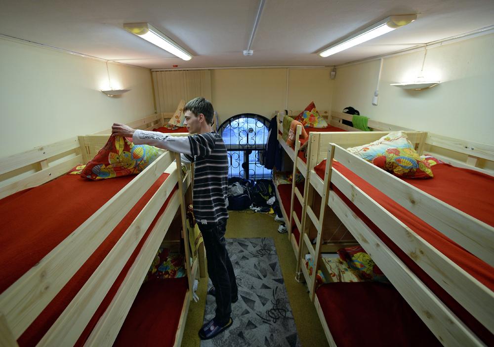 Moskovski hostel i muzej LEN Inn.