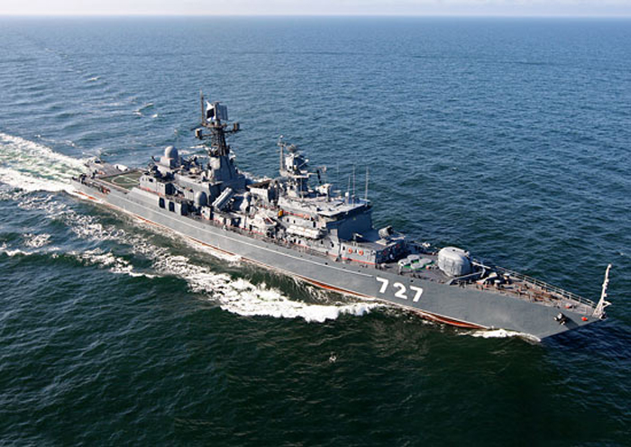 The patrol ship Yaroslav Mudry.